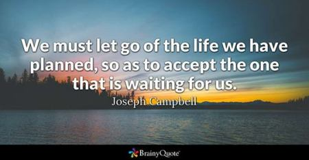 life planned Joseph Campbell
